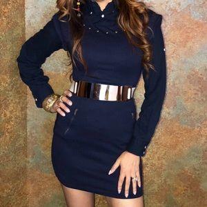 Mini Dress Navy blue